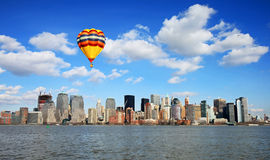 The Lower Manhattan Skyline Stock Photography