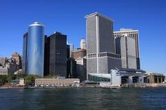 Lower Manhattan-Skyline lizenzfreie stockfotografie