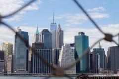 Lower Manhattan Skyline Stock Photo