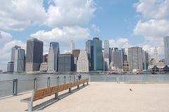 Lower Manhattan Skyline, New York City Stock Image