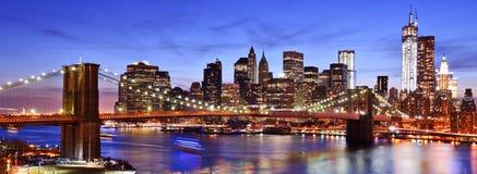 Lower Manhattan Skyline. In New York City Royalty Free Stock Images