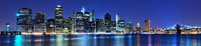 Lower Manhattan Skyline. In New York City Royalty Free Stock Photos