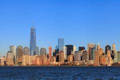 Lower Manhattan Skyline Royalty Free Stock Photos