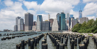 Lower Manhattan Skyline, New York City, USA Stock Photography