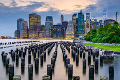 Lower Manhattan Skyline Stock Images