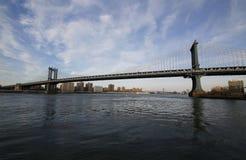 Lower Manhattan skyline panorama Royalty Free Stock Photography