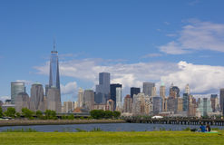 Lower Manhattan Skyline Stock Image