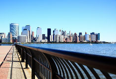 The Lower Manhattan Skylines Royalty Free Stock Image