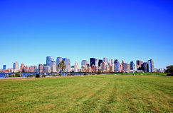 The Lower Manhattan Skylines Royalty Free Stock Photos