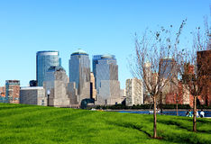 The Lower Manhattan Skylines Royalty Free Stock Photography