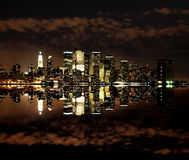 Lower Manhattan Skylines Stock Image
