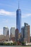 Lower Manhattan skyscrapers. Stock Image