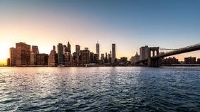 Lower Manhattan timelapse (deel 2) stock videobeelden