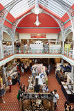Lower Market Hall, covered market at Camden Lock in London Stock Photos
