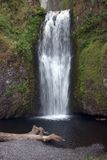 Lower Multnomah Falls. In the columbia river gorge Stock Photography