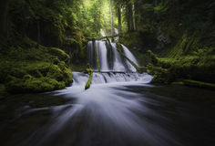 Lower panther falls Royalty Free Stock Images