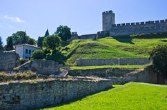 Lower part of Kalemegdan fortress, Belgrade Stock Photo