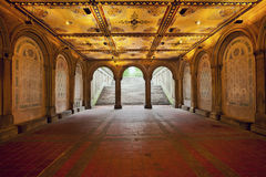 Lower Passage of Bethesda Terrace Stock Images