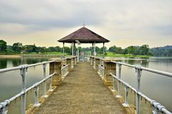 Lower Peirce Reservoir, Singapore Stock Image