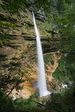 Lower Pericnik waterfall Stock Photography