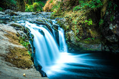 Lower Punchbowl Falls, Eagle Creek trail. Located on Eagle Creek Trail, Columbia River Gorge, OR Stock Images