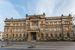 Lower saxony Ministry of Finance in hannover germany Royalty Free Stock Photo
