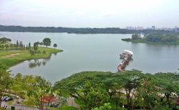 Lower Seletar Reservoir Stock Photography