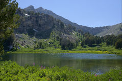 Lower Silver Dollar Lake Royalty Free Stock Images