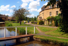 Lower Slaughter Royalty Free Stock Photos