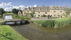 Lower slaughter Stock Images