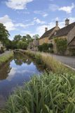 Lower Slaughter, Cotswolds royalty free stock images