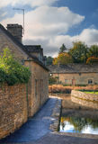Lower Slaughter, Cotswolds royalty free stock photo