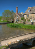 Lower Slaughter, Cotswolds Stock Image