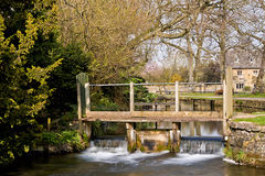 The River Eye Lower Slaughter Cotswolds UK Royalty Free Stock Photography