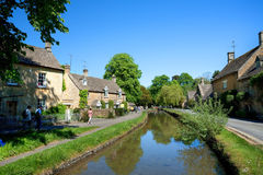 Lower Slaughter (editorial) royalty free stock photo