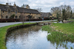 LOWER SLAUGHTER, GLOUCESTERSHIRE/UK - MARCH 24 : Scenic View of Stock Images