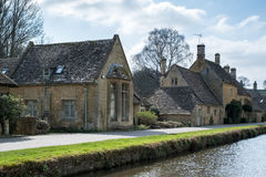LOWER SLAUGHTER, GLOUCESTERSHIRE/UK - MARCH 24 : Scenic View of Stock Photography