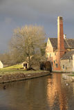 Lower Slaughter Mill Stock Image