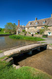 Lower Slaughter Stock Photo