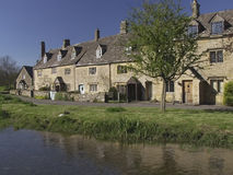 Lower slaughter village Royalty Free Stock Image