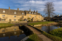 Lower Slaughter Village Stock Photos