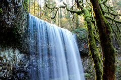 Lower South Falls, Oregon Stock Photography