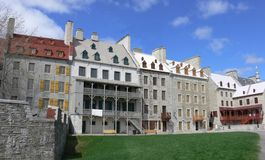 Lower Town Quebec Stock Image