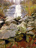 Lower Whiteoak Falls Virginia Stock Photo