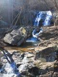 Lower Whiteoak Falls. Waterfalls in the heart of Virginia's Shenandoah Mountain Range Stock Photo