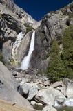 Lower Yosemite Falls. In Yosemite National Park Stock Images