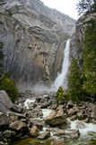 Lower Yosemite falls Stock Image
