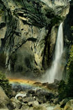 Yosemite Falls Rainbow Royalty Free Stock Images