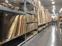 Lowes Home Improvement Store. Lowes is a U.S.-based chain of retail home improvement and appliance stores. This store is located in Gilbert Arizona Stock Photo