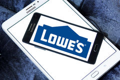 Lowes logo Fotografia Royalty Free
